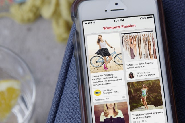 Test Pins Sponsorisés par Pinterest